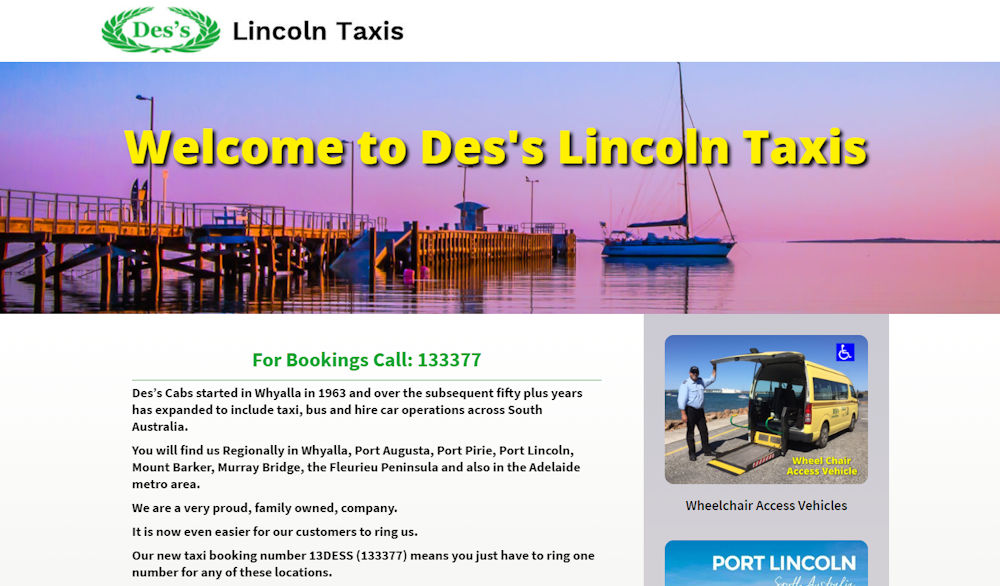 Des's Lincoln Taxis