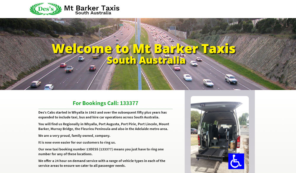 Mt Barker Taxis