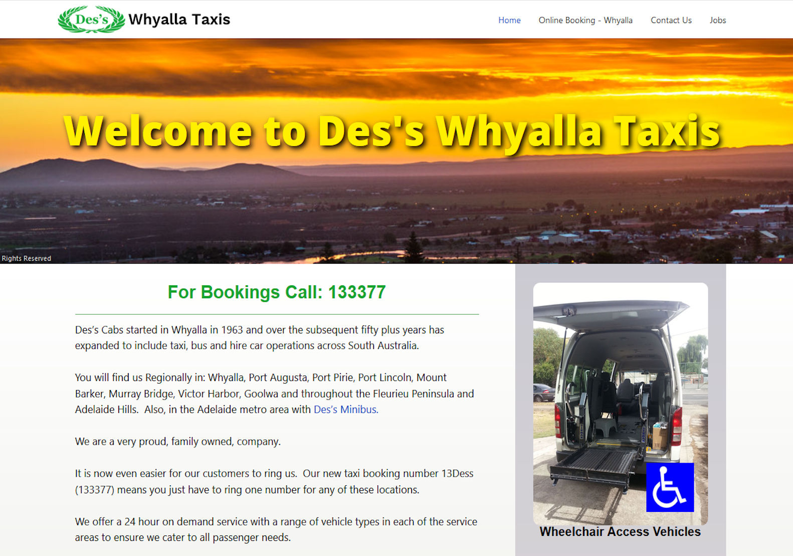 Des's Whyalla Taxis